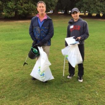 2017 Vancouver Shoreline Cleanup, Gerry Scott & Carson Hamill (IFS Coquitlam)