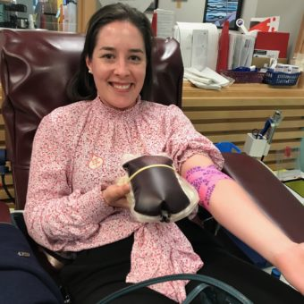 2019 RJ Cares Canadian Blood Services - Lorna Brosnahan