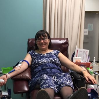 2019 RJ Cares Canadian Blood Services - Marianne Ewasyn