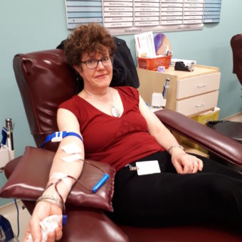 2019 RJ Cares Canadian Blood Services - Moira Rosser