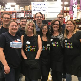 2019 RJ Cares Calgary - Calgary Food Bank