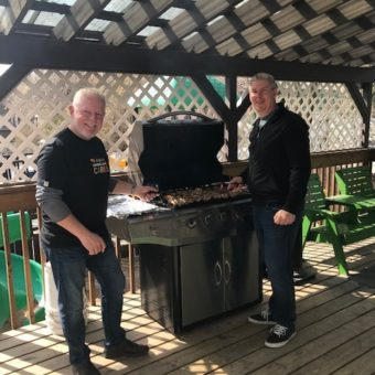 2019 RJ Cares Saskatoon - Interval House of Saskatoon Dave Hassell & Chad Woolsey