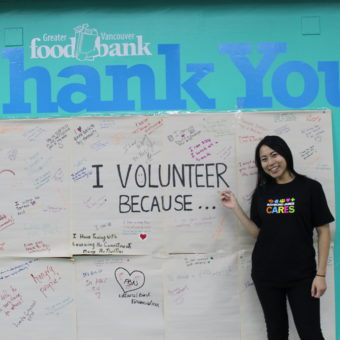 2019 RJ Cares Vancouver - Greater Vancouver Food Bank Carmen Tsang