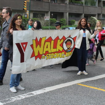 2019 RJ Cares Vancouver - YMCA Walk for Strong Kids Yvonne Kwan and Sue Sammy