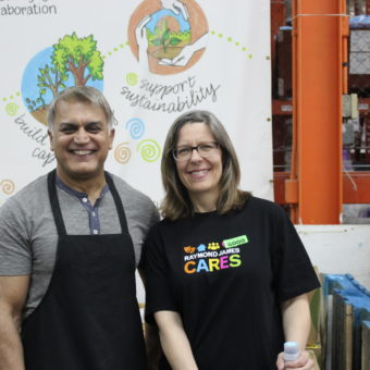 2019 RJ Cares Vancouver - Greater Vancouver Food Bank