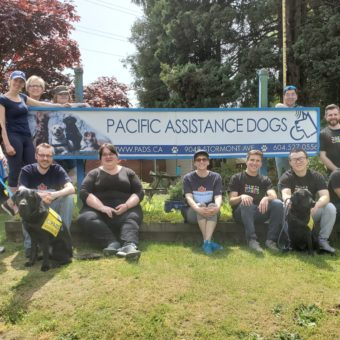 2019 RJ Cares Vancouver - Pacific Assistance Dogs